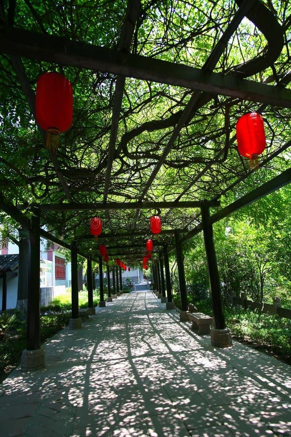 Chinesische rote Laterne lizenzfreie stockbilder