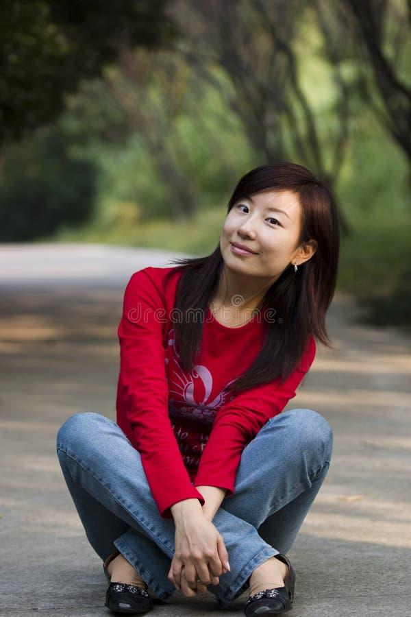 Chinesische Schönheit stockbild