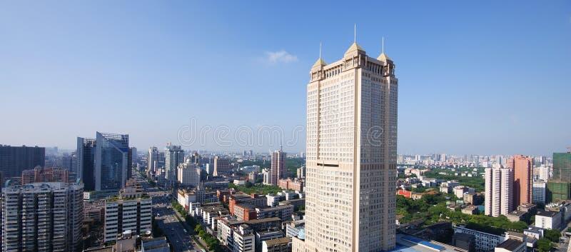 Chinesische Städte lizenzfreie stockfotos
