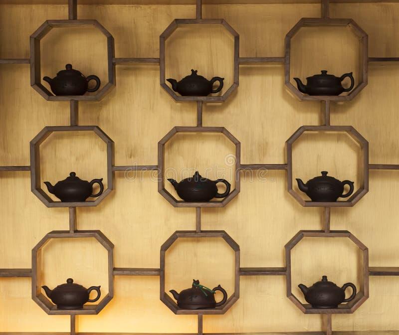 Chinesische Teekanne Lizenzfreies Stockfoto