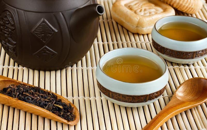 Chinesische Teezeremonie Noch Leben 1 stockbilder