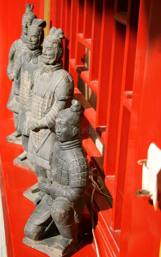 Chinesische terraccotta Armee stockfotos
