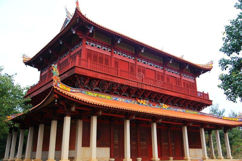 Chinesische traditionelle buddhistische Tempel, Kaiyuan-Tempel stockfoto