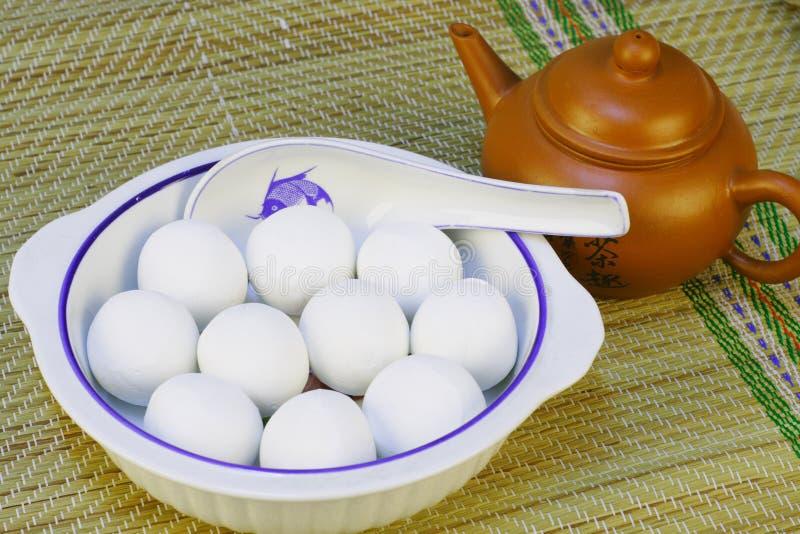 Chinesische traditionelle Nahrung stockfotos