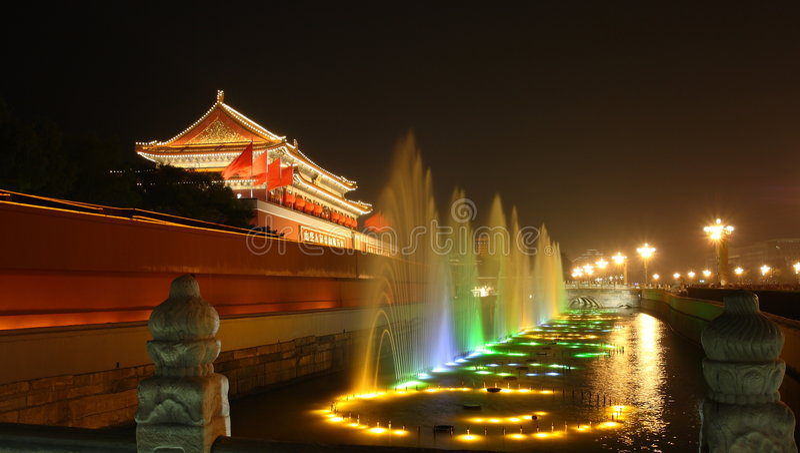 Chinesische verbotene Stadt lizenzfreies stockbild