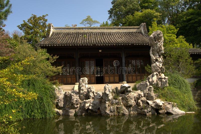 Chinesischer botanischer Garten stockbilder
