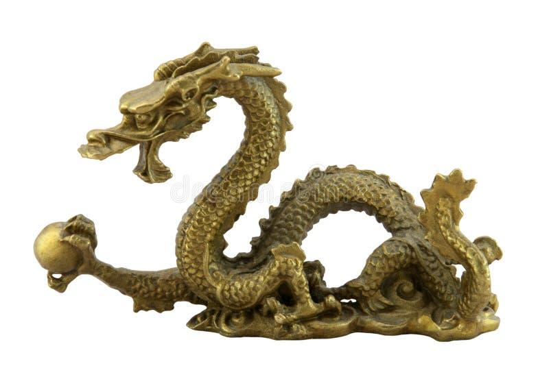 Chinesischer britischer Drache lizenzfreie stockfotos