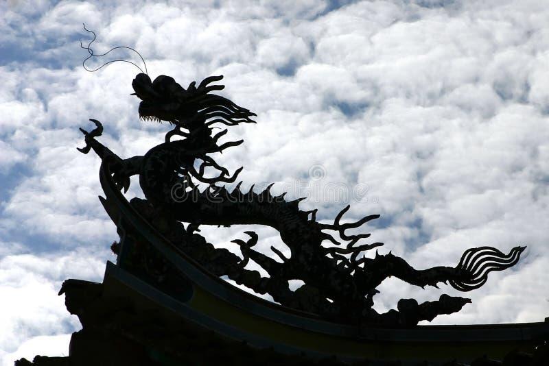 Chinesischer Drache lizenzfreies stockbild