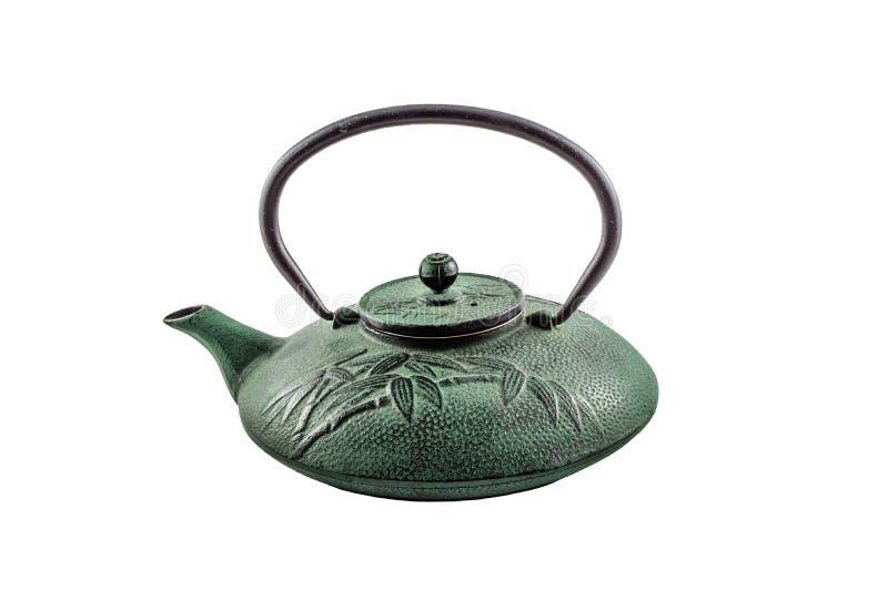 Chinesischer Eisenkessel stockbild. Bild von teekanne - 75105389