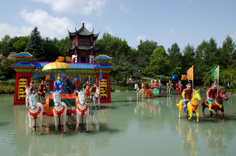 Download Chinesischer Garten stockfoto. Bild von gebäude, kanada - 26366318