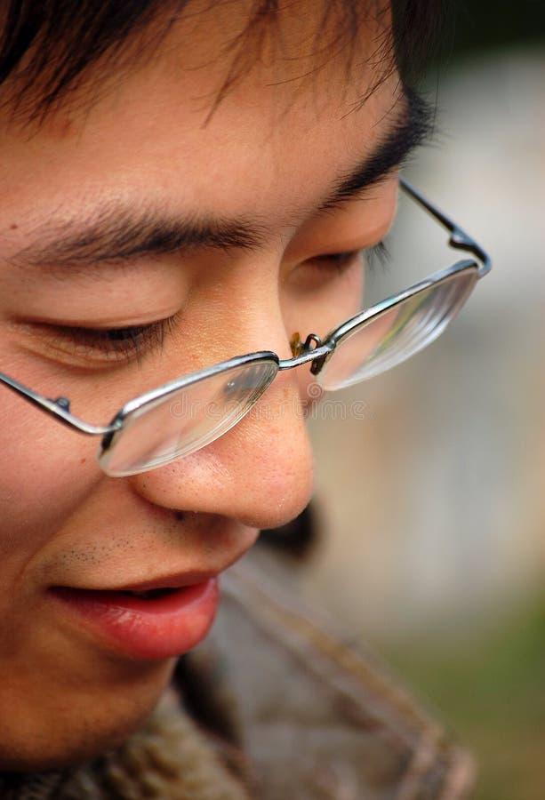 Chinesischer Junge stockfoto