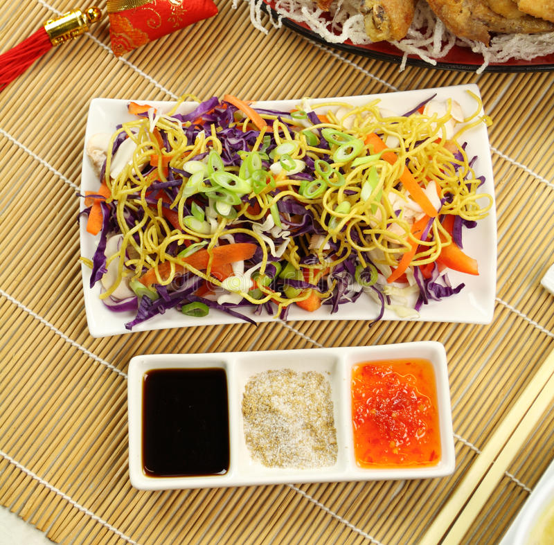 Chinesischer Kohlsalat stockfotos