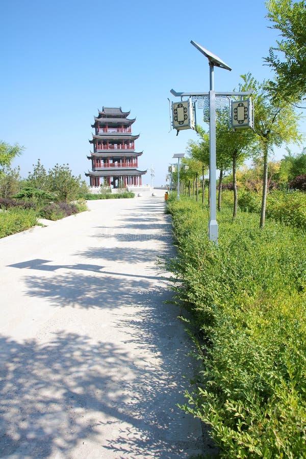 Download Chinesischer Kontrollturm stockfoto. Bild von gebäude - 26367038