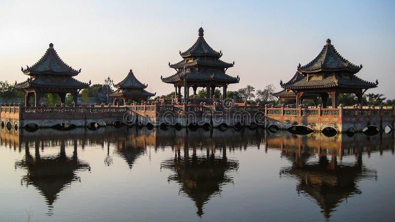 Chinesischer Pavillion lizenzfreies stockfoto