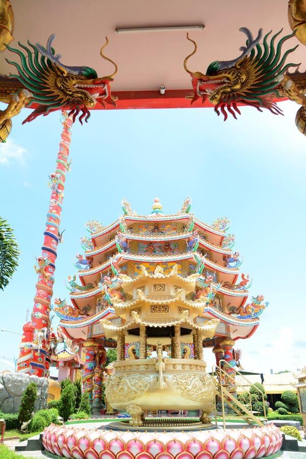 Chinesischer Pavillion stockbild