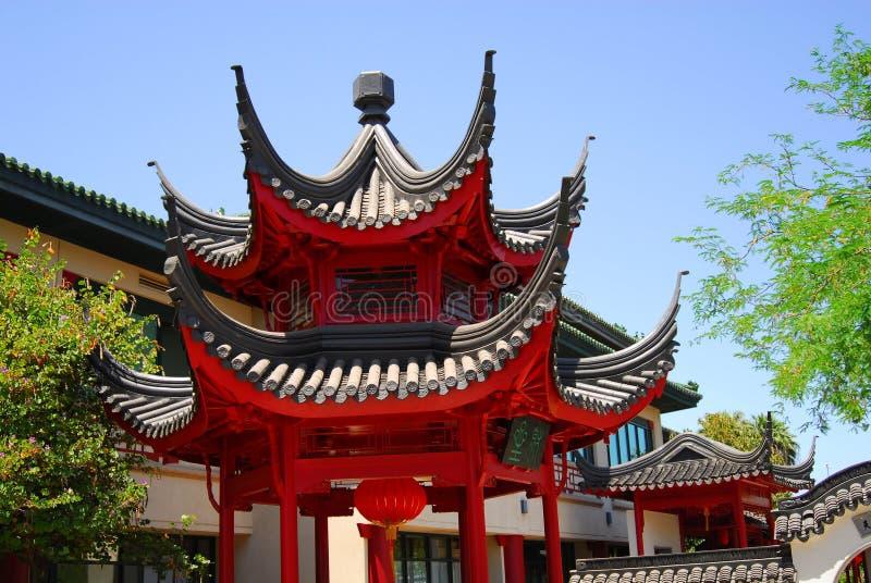 Chinesischer Pavillion drei lizenzfreies stockbild