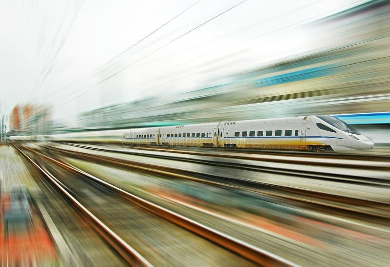 Chinesischer Schnellzug stockfotografie