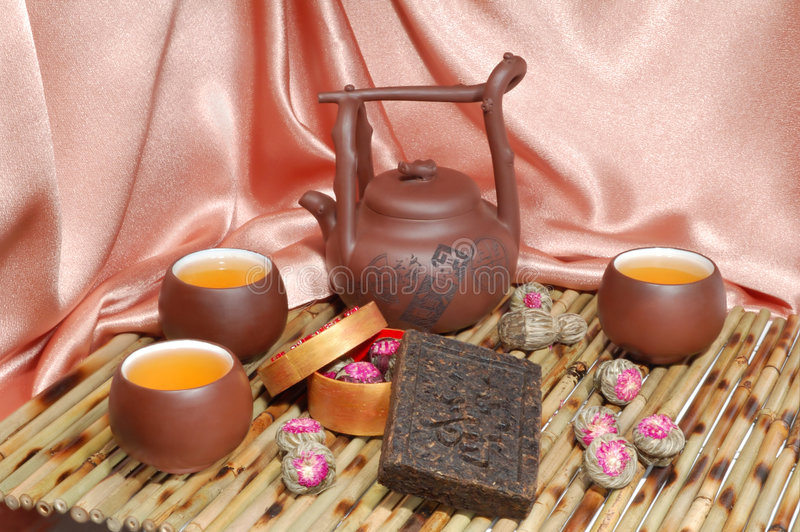 Chinesischer Tee stockbilder