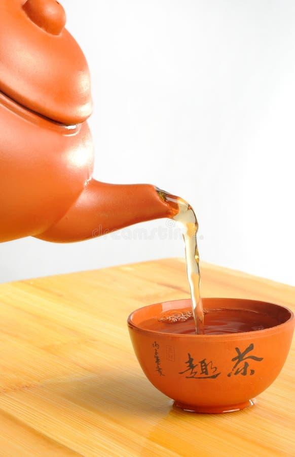 Download Chinesischer Tee stockbild. Bild von orientalisch, frisch - 9088779