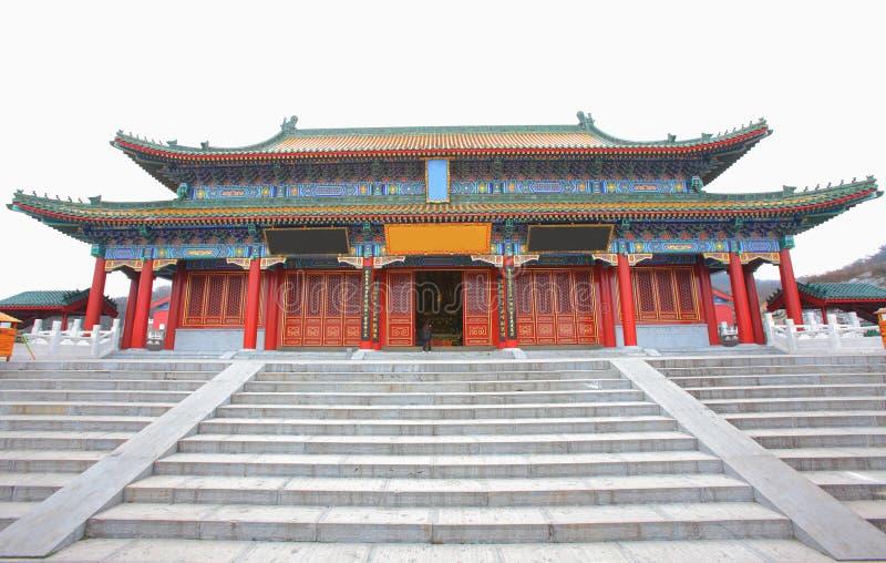 Chinesischer Tempel lizenzfreie stockbilder