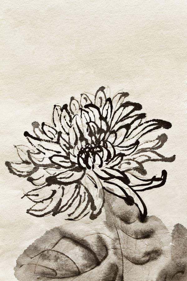 Chinesischer traditioneller Anstrich vektor abbildung