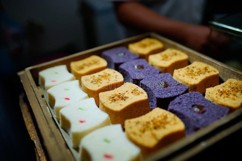 Chinesischer traditioneller Kuchen stockbilder
