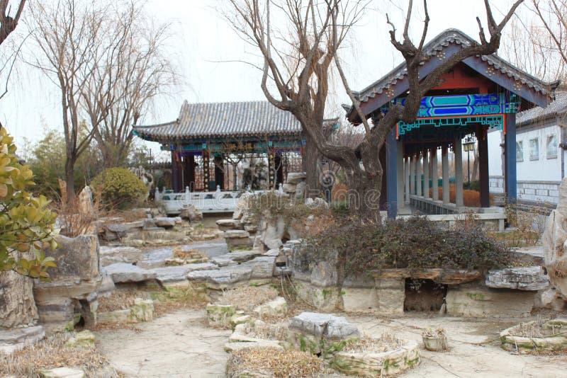 Chinesischer traditioneller Pavillon lizenzfreie stockfotos