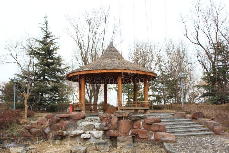 Chinesischer traditioneller Pavillon stockfoto