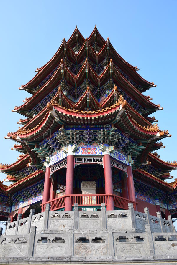 Chinesischer Turm fotografia de stock royalty free