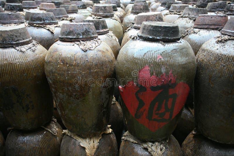 Chinesischer Wein stockbilder