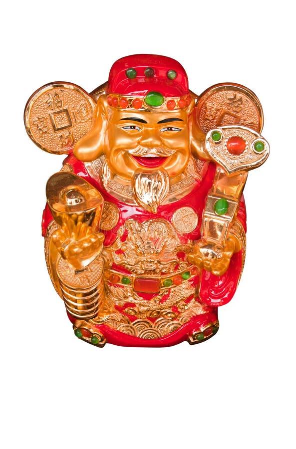 Chinesischer Wohlstands-Geld-Gott stockbild
