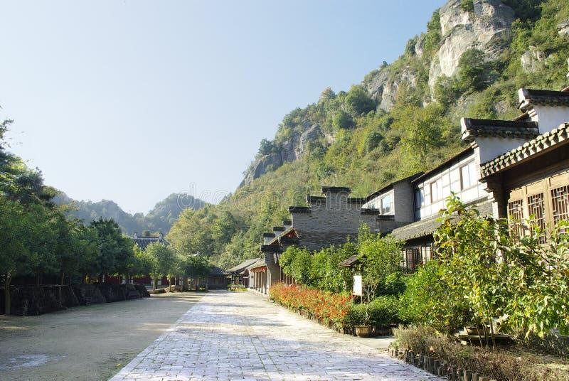 chinesisches altes Gebäude stockfotos