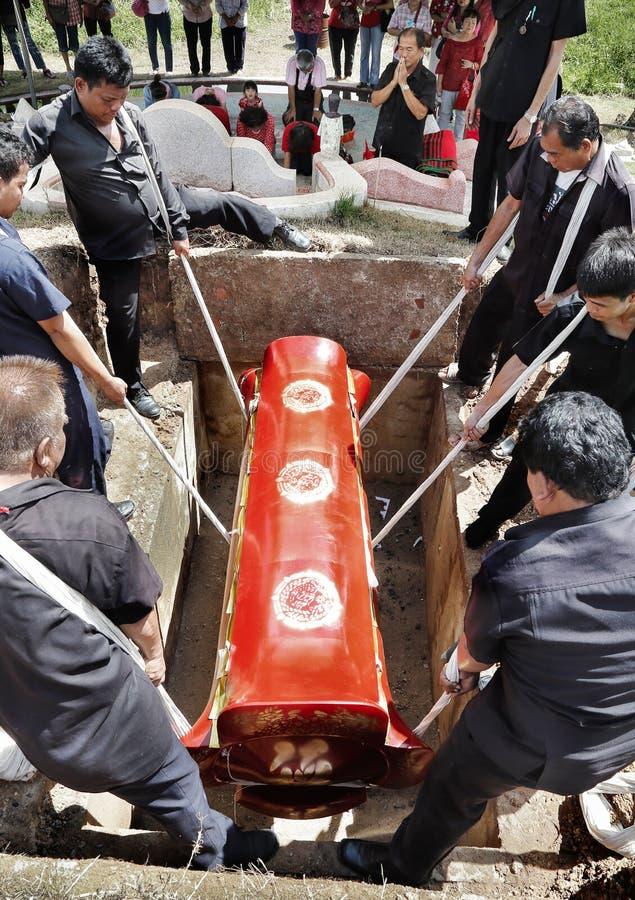 Chinesisches Begräbnis stockbilder
