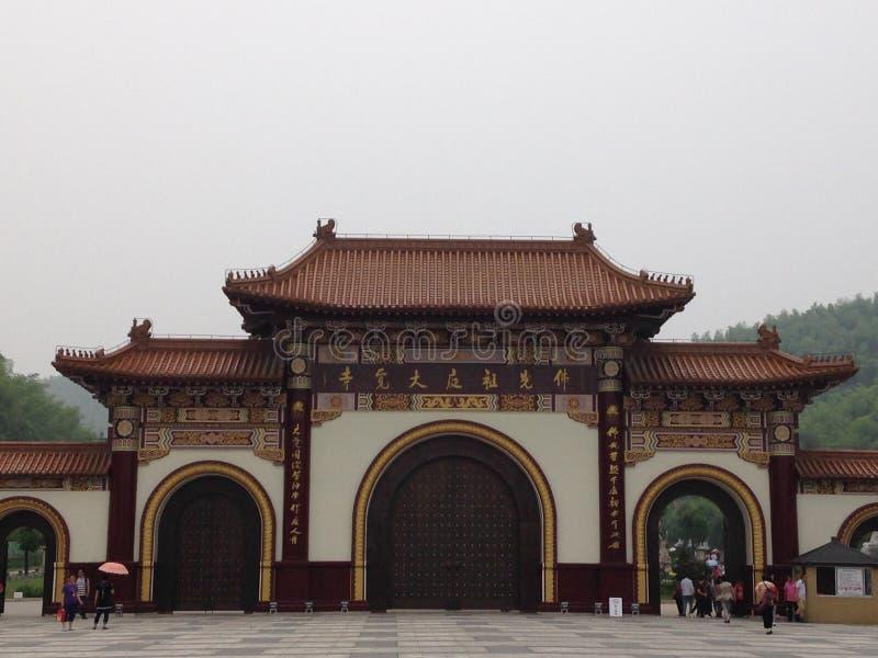 Chinesisches buddhistisches Kloster lizenzfreie stockfotografie
