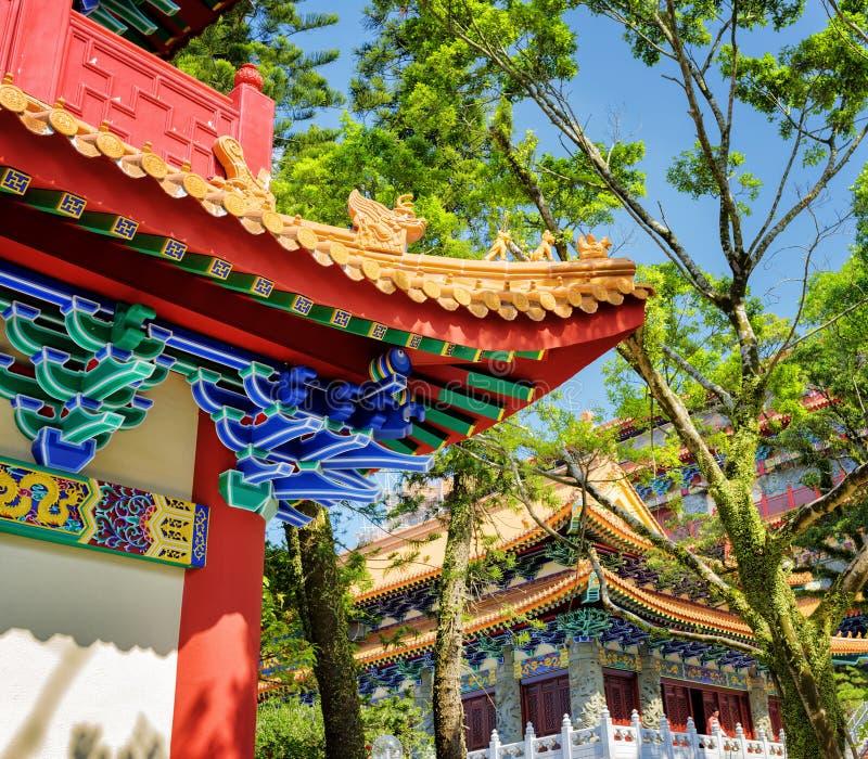 Chinesisches Dach stockbild