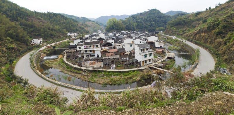 Chinesisches Dorf lizenzfreie stockbilder