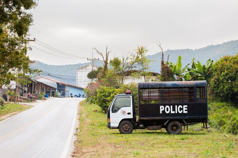 Chinesisches Dorf Thailand Mae Salongs lizenzfreie stockfotos
