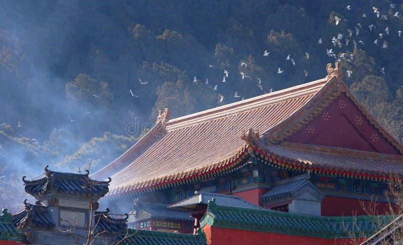 chinesisches Gebäude stockfotografie