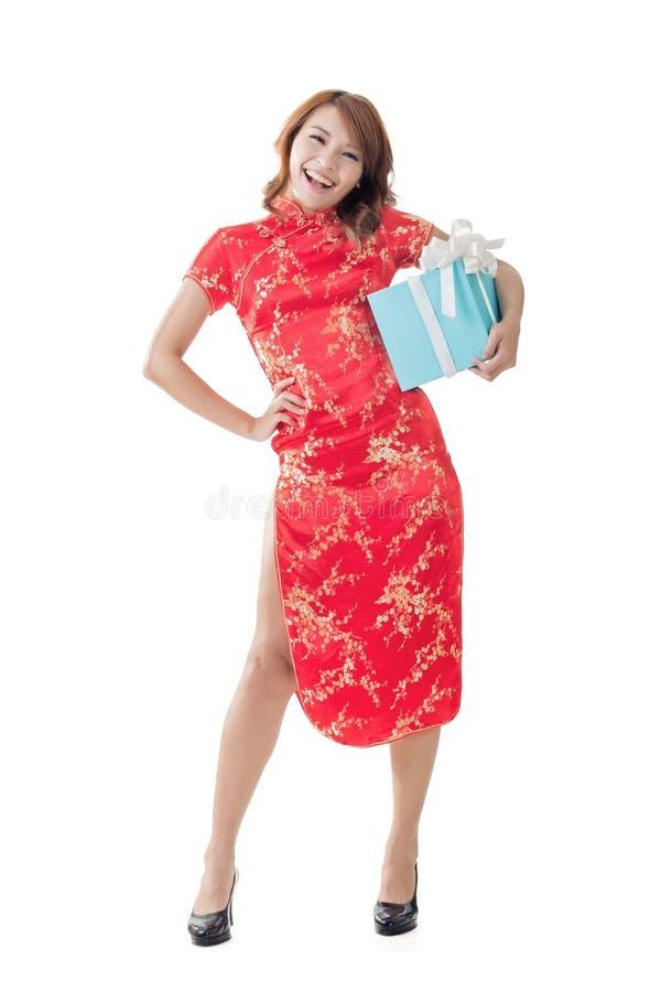Chinesisches Geschenk des neuen Jahres stockfoto