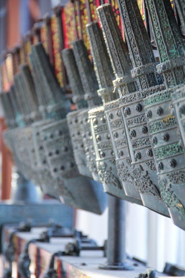 Chinesisches Glockenspiel lizenzfreies stockfoto
