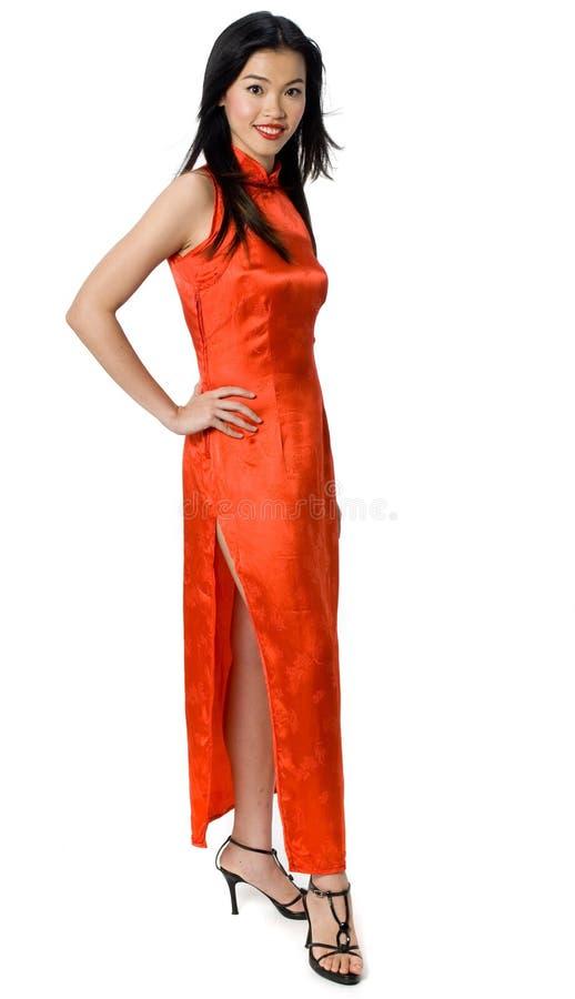 Chinesisches Kleid lizenzfreies stockbild