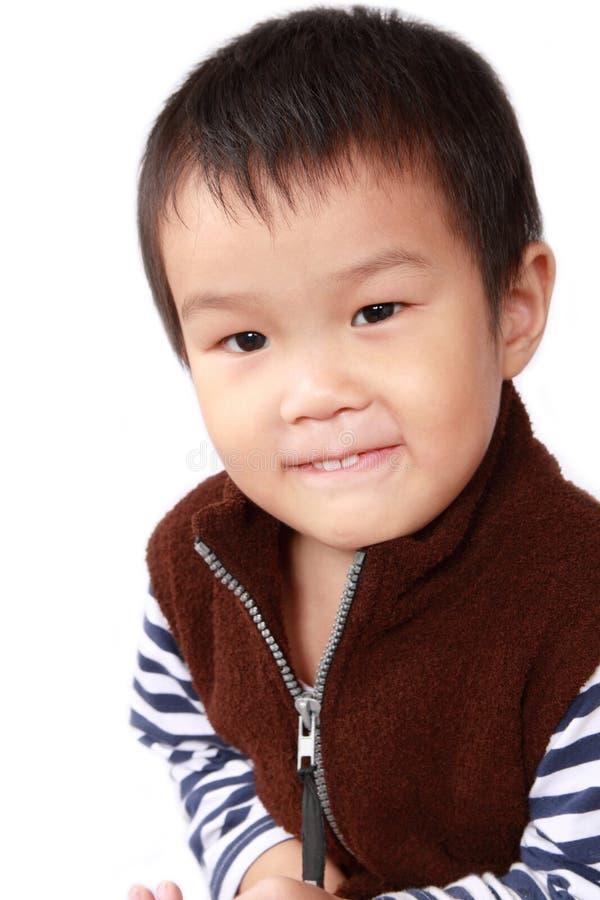 Chinesisches kleines Mädchen stockbild
