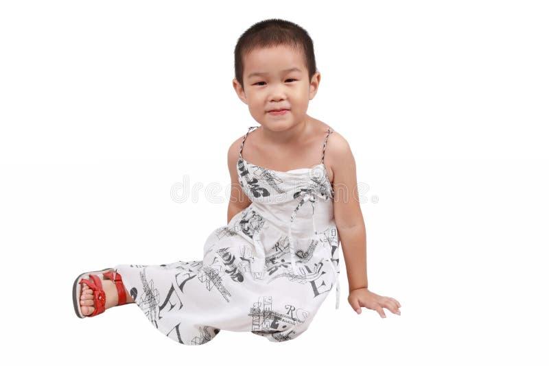Chinesisches kleines Mädchen lizenzfreie stockbilder