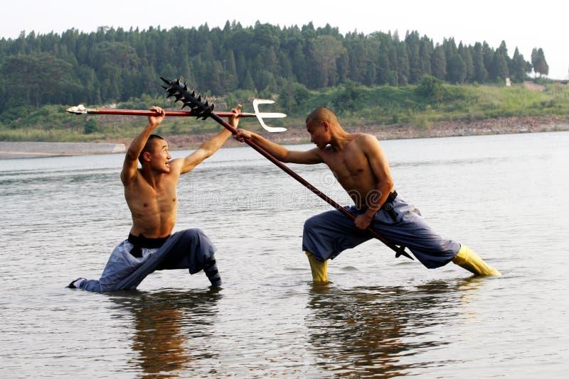 Chinesisches Kung Fu stockfotos
