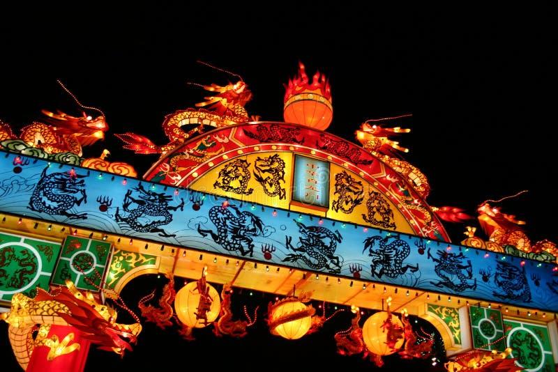 Chinesisches Laterne-Festival lizenzfreie stockfotos