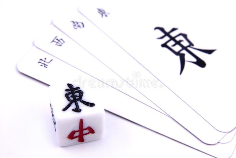 Download Chinesisches Mahjong Spiel stockbild. Bild von richtung - 859227