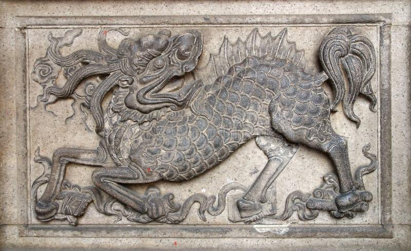 Chinesisches Monster lizenzfreies stockfoto