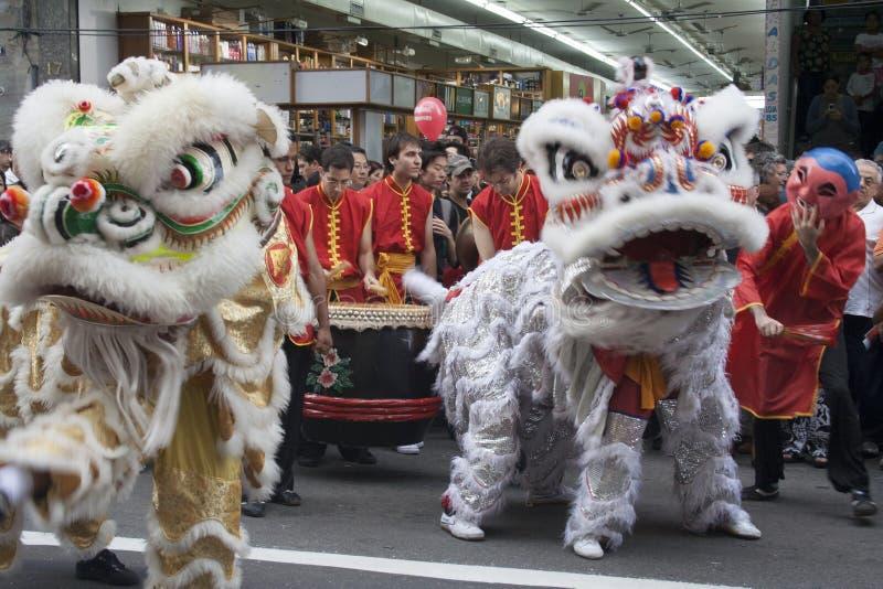 Download Chinesisches neues Jahr redaktionelles stockbild. Bild von tänzer - 47100079