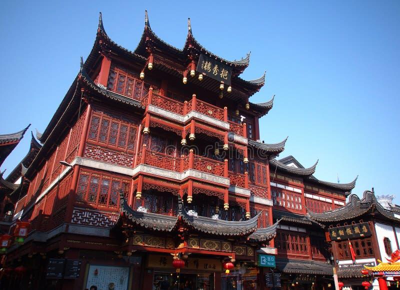 Chinesisches neues Jahr Shanghai China stockbilder