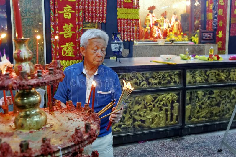 Chinesisches Neujahrsfest Malaysias Penang Georgetown lizenzfreie stockbilder
